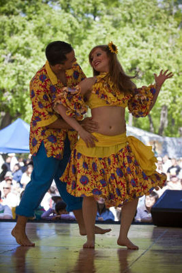 The Colombian Folkloric Ballet Saturday, April 26 at 11:30 a.m.Center Stage Photo: Eric Kayne, For The Chronicle