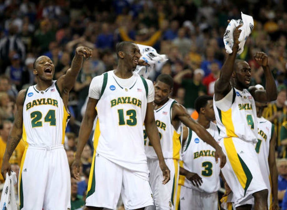 March 26: No. 3 Baylor 72, No. 10 Saint Mary's 49 Baylor advanced to the Elite Eight with a dominant win over Saint Mary's. Photo: Nick De La Torre, Chronicle