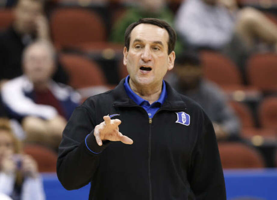 Mike Krzyzewski  School: Duke  Years: 1984-present  NCAA Tournament wins 73  Comment: You want consistency? The Blue Devils have made the third round of the tournament 19 times in 25 years. Photo: Steve Helber, AP