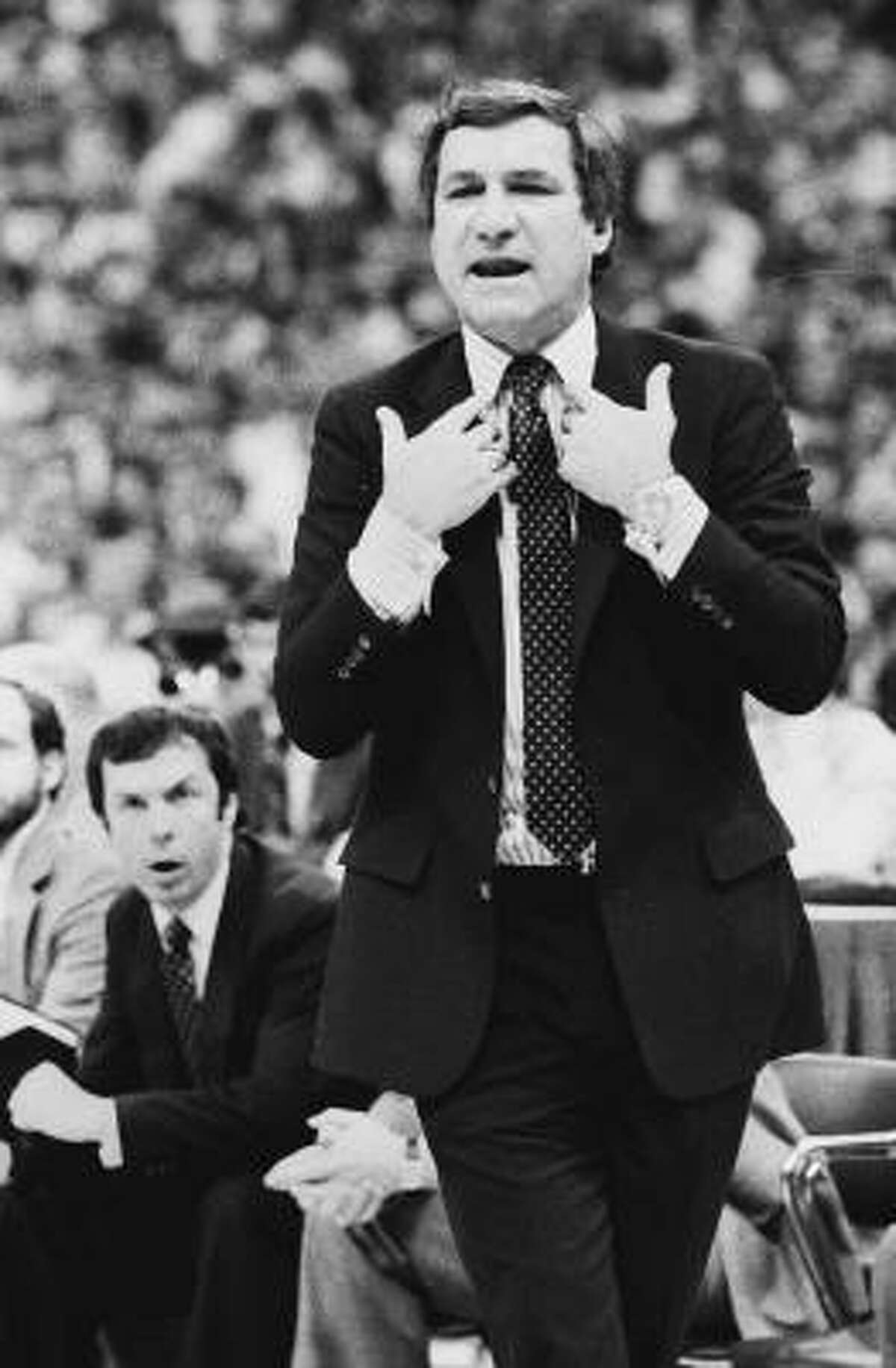 Dean Smith School: North Carolina Years: 1967-97 NCAA Tournament wins 65 Comment: They don't name basketball arenas on Tobacco Road after you for nothing.