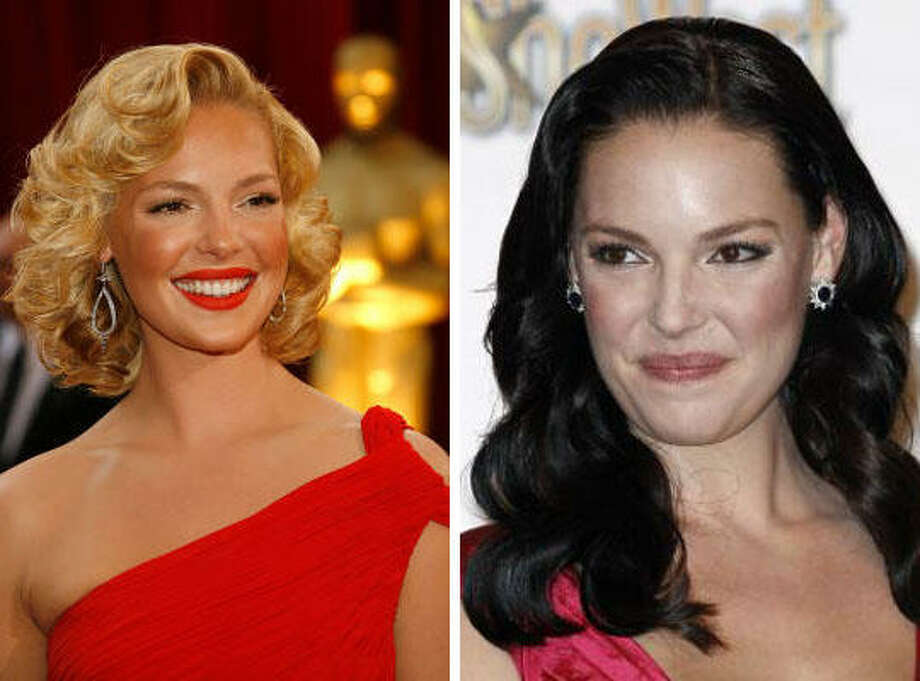 Katherine HeiglBlonde or not? Photo: Getty Images/AP