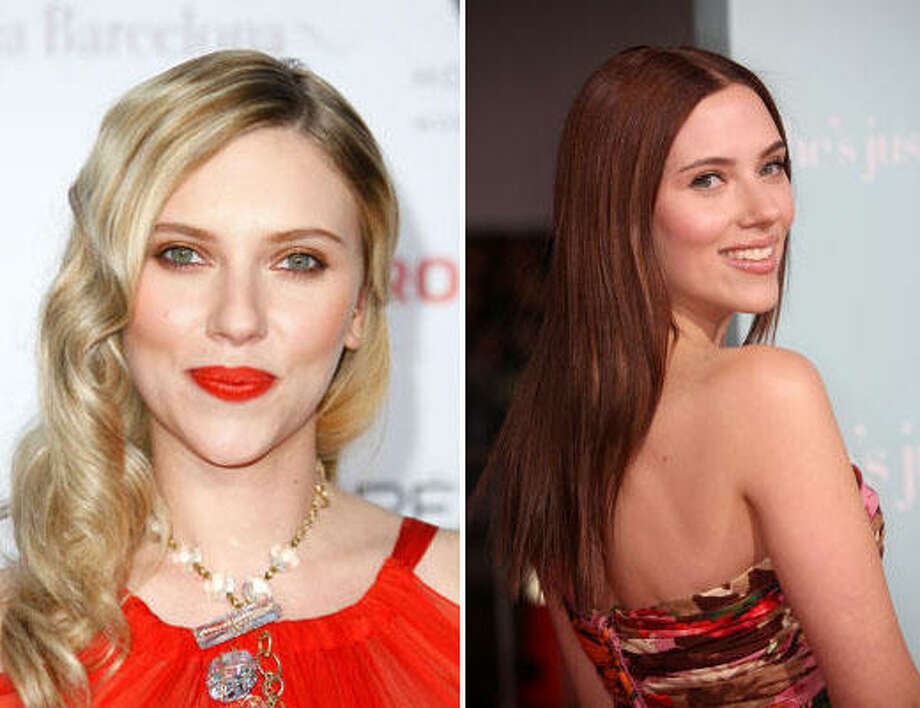 Scarlett JohanssonBlonde or not? Photo: Getty Images