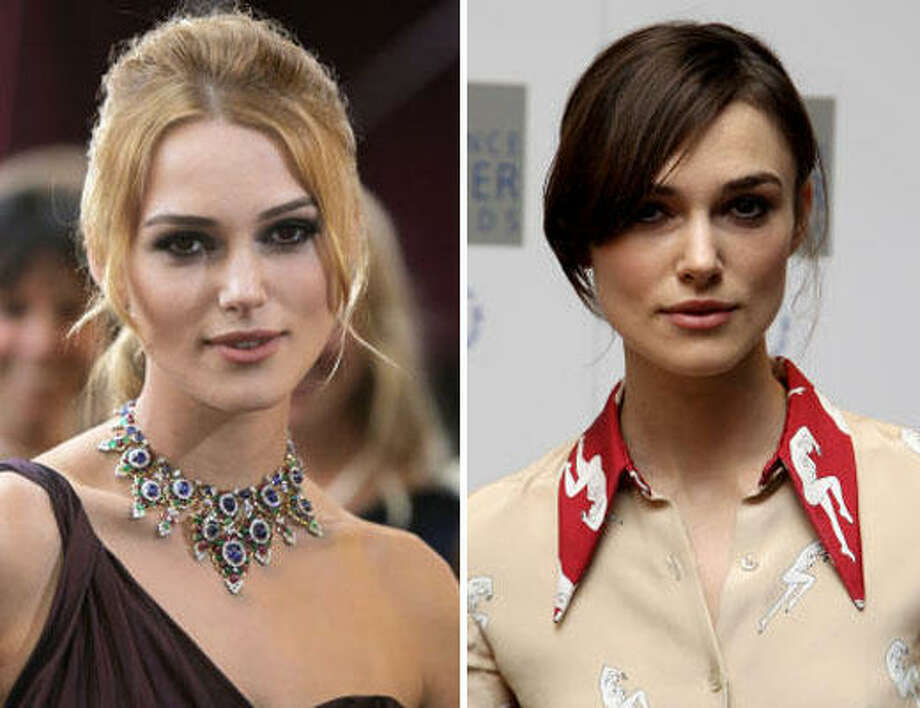 Keira KnightleyBlonde or not? Photo: AFP/Getty Images