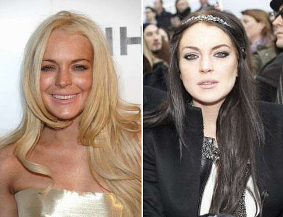 Lindsay LohanBlonde or not? Photo: AP