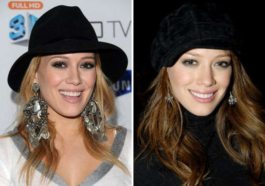 Hilary DuffBlonde or not? Photo: AP