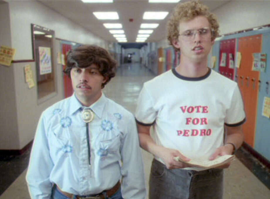 "Napoleon Dynamite (2004)""Vote for Pedro."" Photo: Twentieth Century Fox"