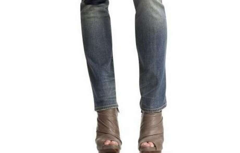 Denim never goes out of style, but there are seasons when your old, reliable five-pocket jeans simply aren't enough. Pictured: Gap jeans. Photo: AP