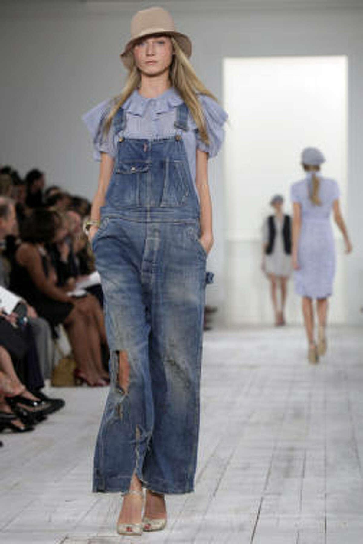Ralph Lauren had overalls on the runway...