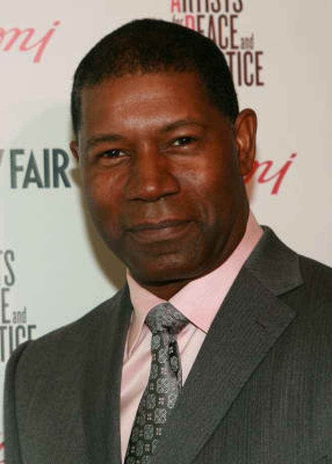 "Dennis Haysbert, who played the president on ""24,"" told WENN, ""What we have to do is really seriously deal with the gun culture we're saddled with. It's the culture in which we live. It starts with the congressmen. We need to enact some strong legislation and stop taking the money from the NRA and lining their pockets with it."" Photo: Jesse Grant, Getty Images For Vanity Fair"