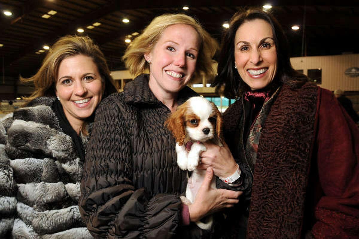 From left: Debra Gregg, Deana Blackburn and Jeannine Iannarelli