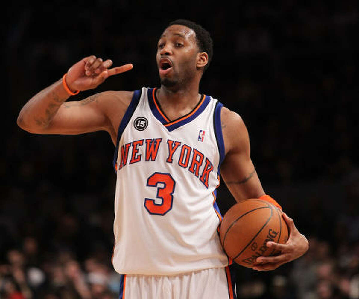 Tracy McGrady was 0-for-7 from the field on Friday night, his second scoreless game in 15 games with the Knicks.