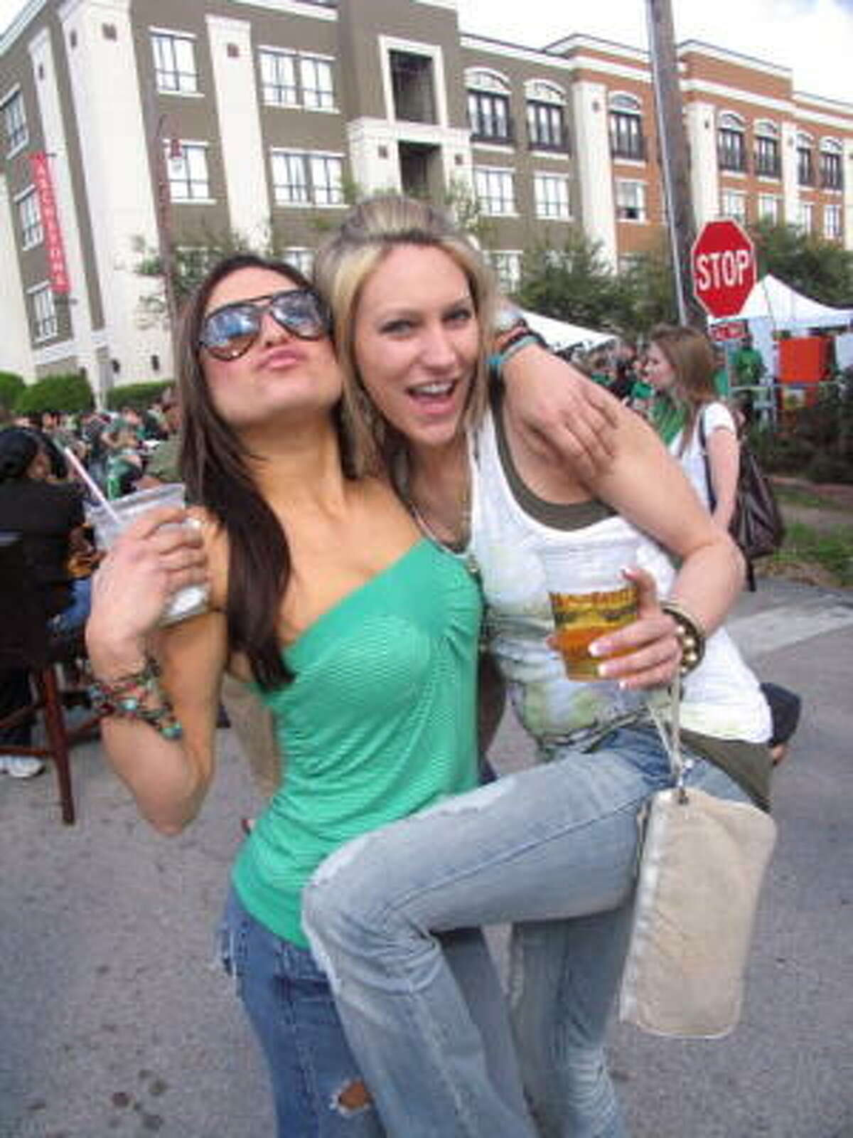 Elena Nanasi, left, and Annette McDaniel