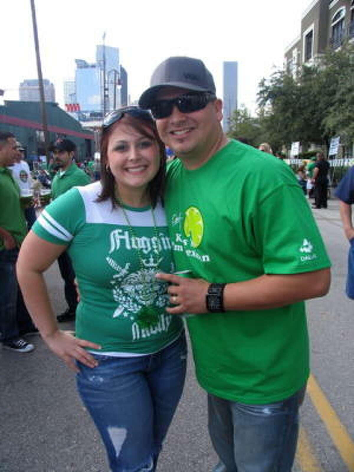 Angela and Gabe Gomez