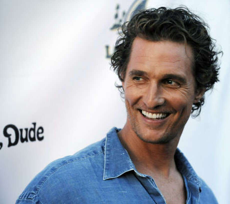 Matthew McConaughey isn't for everyone. Some love him. But some aren't on board with the Texas native. What do you think? Is this laid-back, southern surfer hot or not? Vote here. Photo: Chris Pizzello, AP