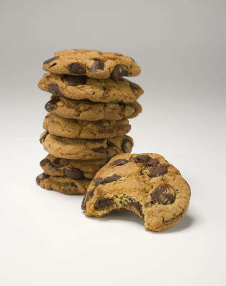 The best selling cookie is the Famous Amos brand, and these chewy morsels can do a number on the waist and sugar levels. Calories: 290; Calories From Fat: 130; Total Fat: 14g; Sugar: 18g. Photo: James Nielsen, Houston Chronicle
