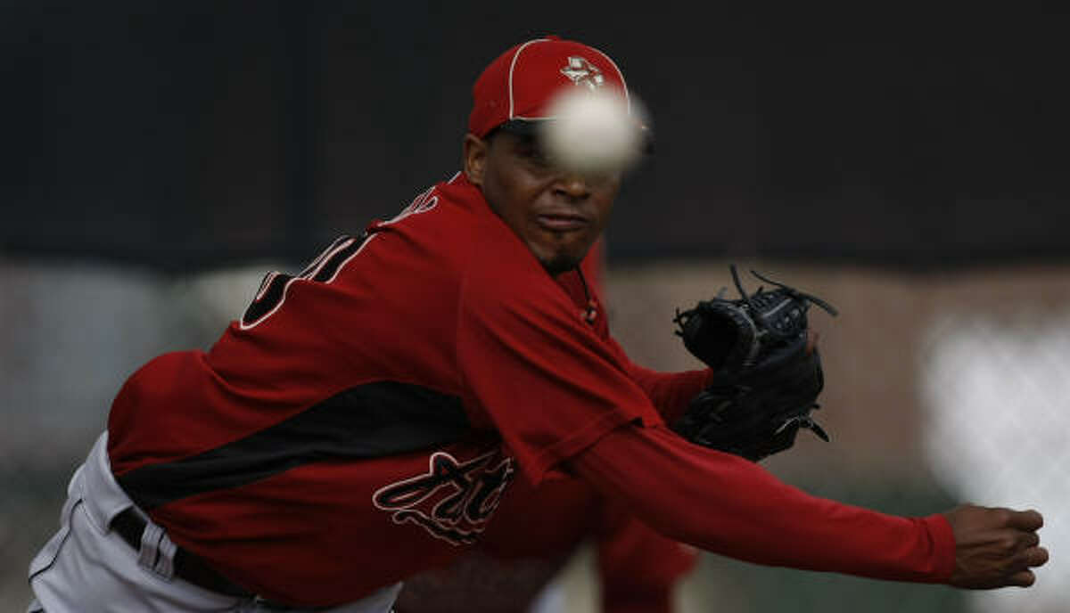 3. Alberto Arias' shoulder What started soreness grew gradually more alarming. The reliever strained his right trapezius and has missed a week and counting.