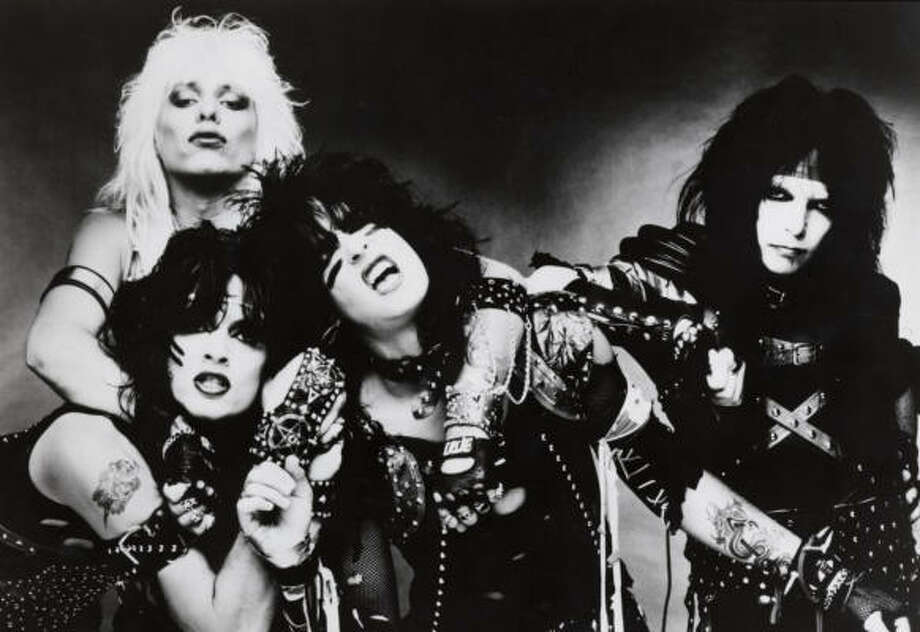 In the late 80s, Motley Crue was all about hair, makeup and girls.