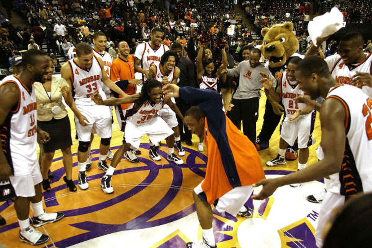Morgan State Record: 27-9 Conference: Mid-Eastern Athletic