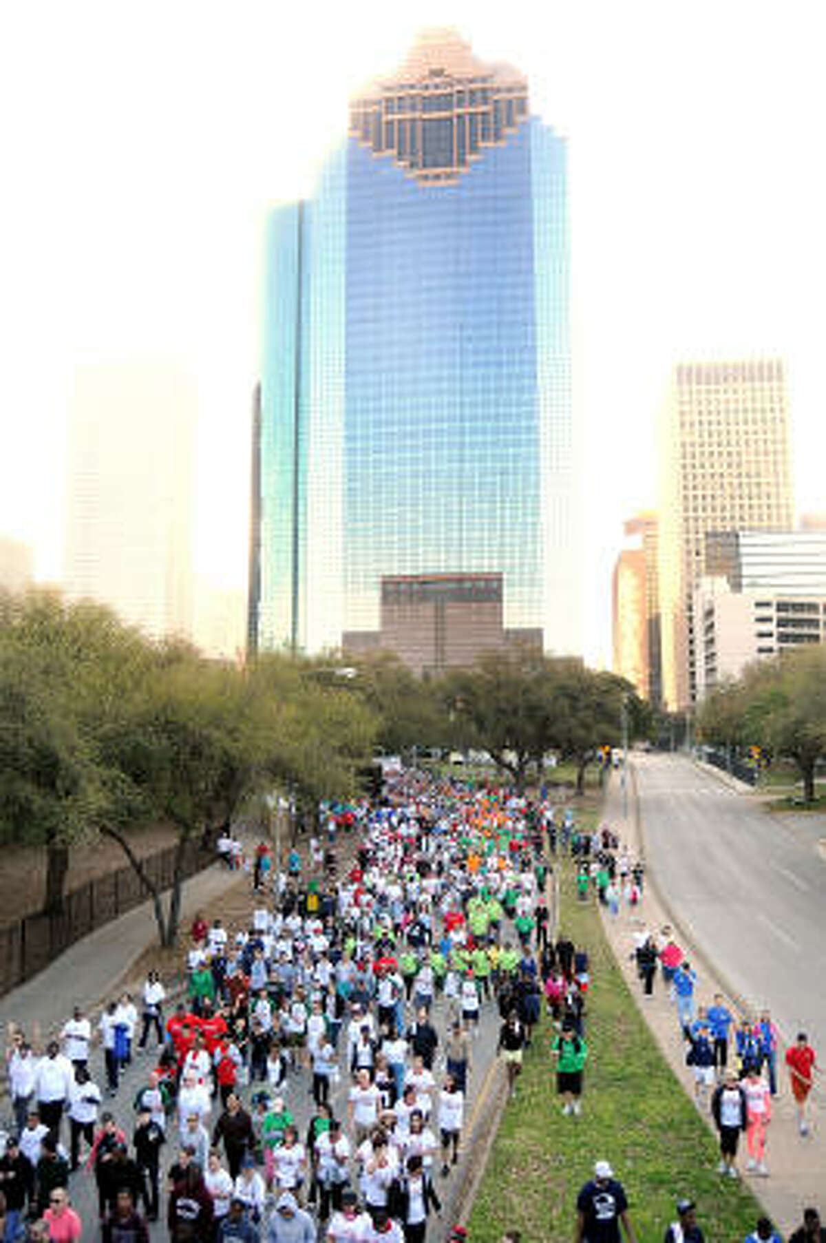 It was a beautiful, sunny day to step up for a good cause.