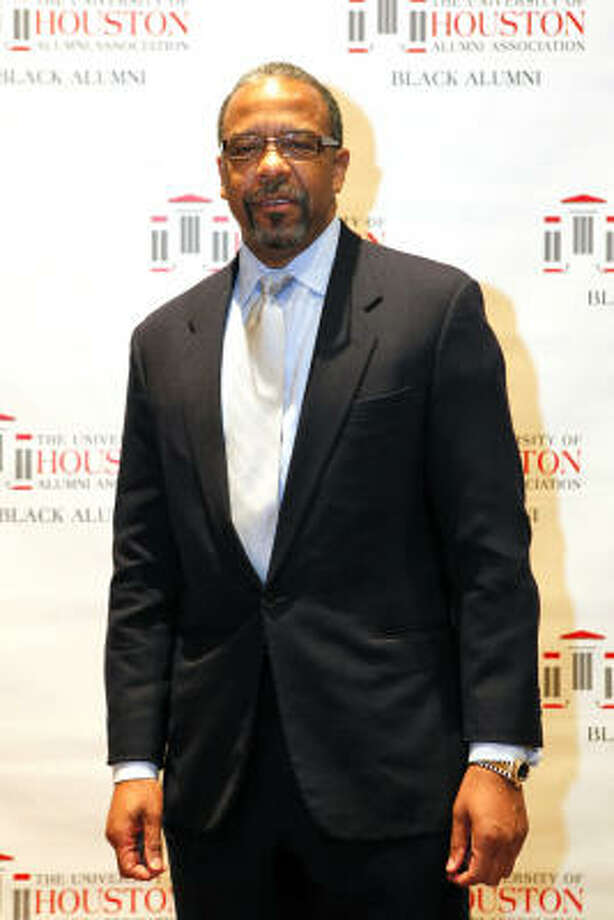 Distinguished Alumni Honoree Bernard A. Harris Jr.at the University of Houston Black Alumni Association's 21st Annual Scholarship and Awards Gala. Photo: TODD SPOTH, For The Chroniclejavascript:{}