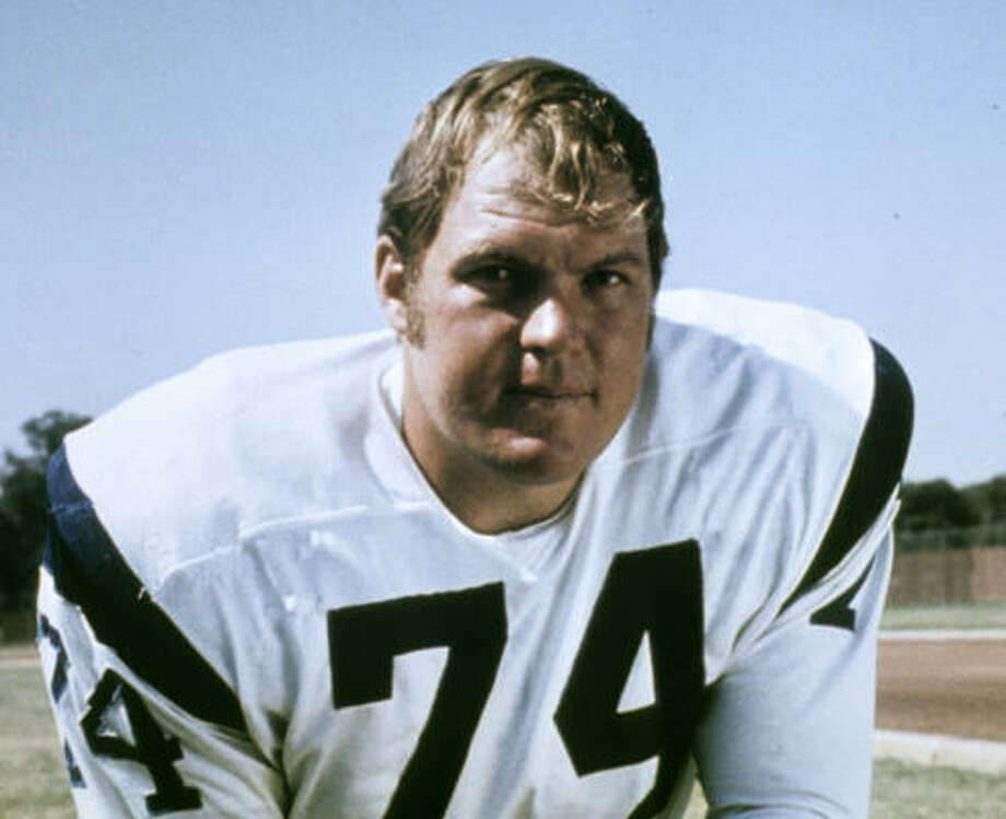 Merlin Olsen in 1970 with the Los Angeles Rams. He was drafted in the first round (third player overall) in 1962 by the team. Photo: NFL, AP