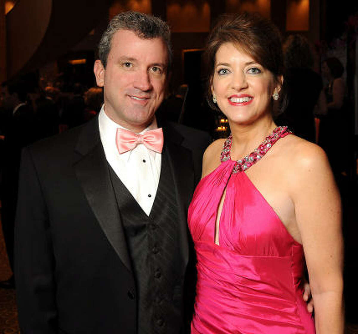 Bill and Tammy Grass at the 2010 Pink Tie Gala at the InterContinental Hotel.