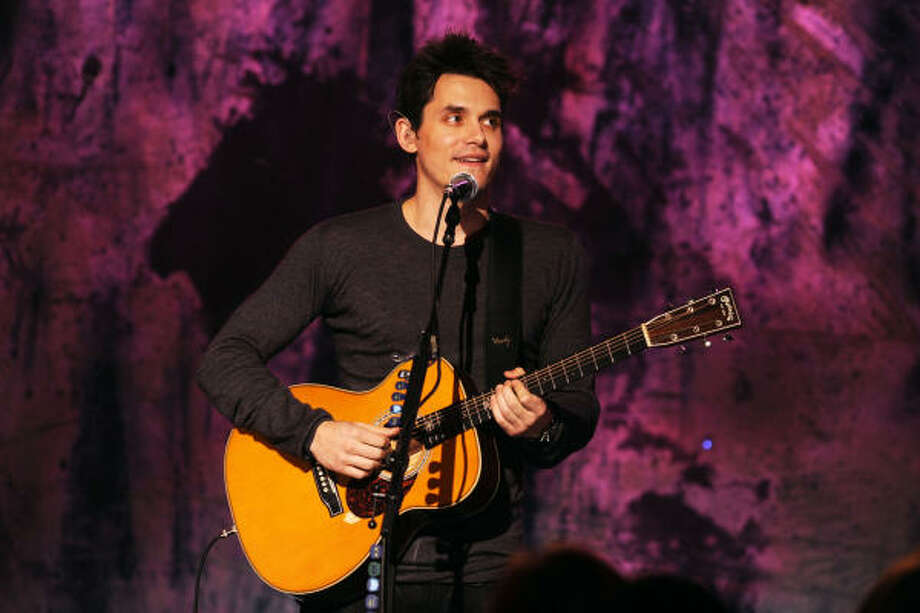 "John Mayer's and his Stupid Mouth: His song is aptly titled , as that's just what got him in trouble when he spoke to Playboy about his ""hood pass"" and his David Duke private parts. Photo: Theo Wargo, Getty Images For Vh1"