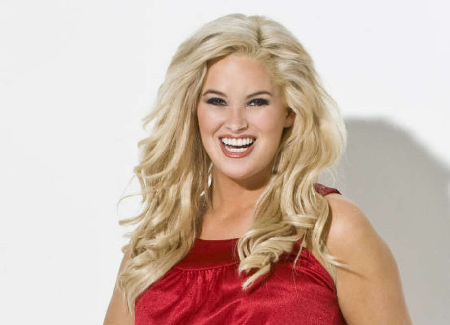 Blonde and beautiful:Plus size model Whitney Thompson won season 10 of America's Next Top Model. Designers are creating clothes for curvier women. Photo: Fashion Bug