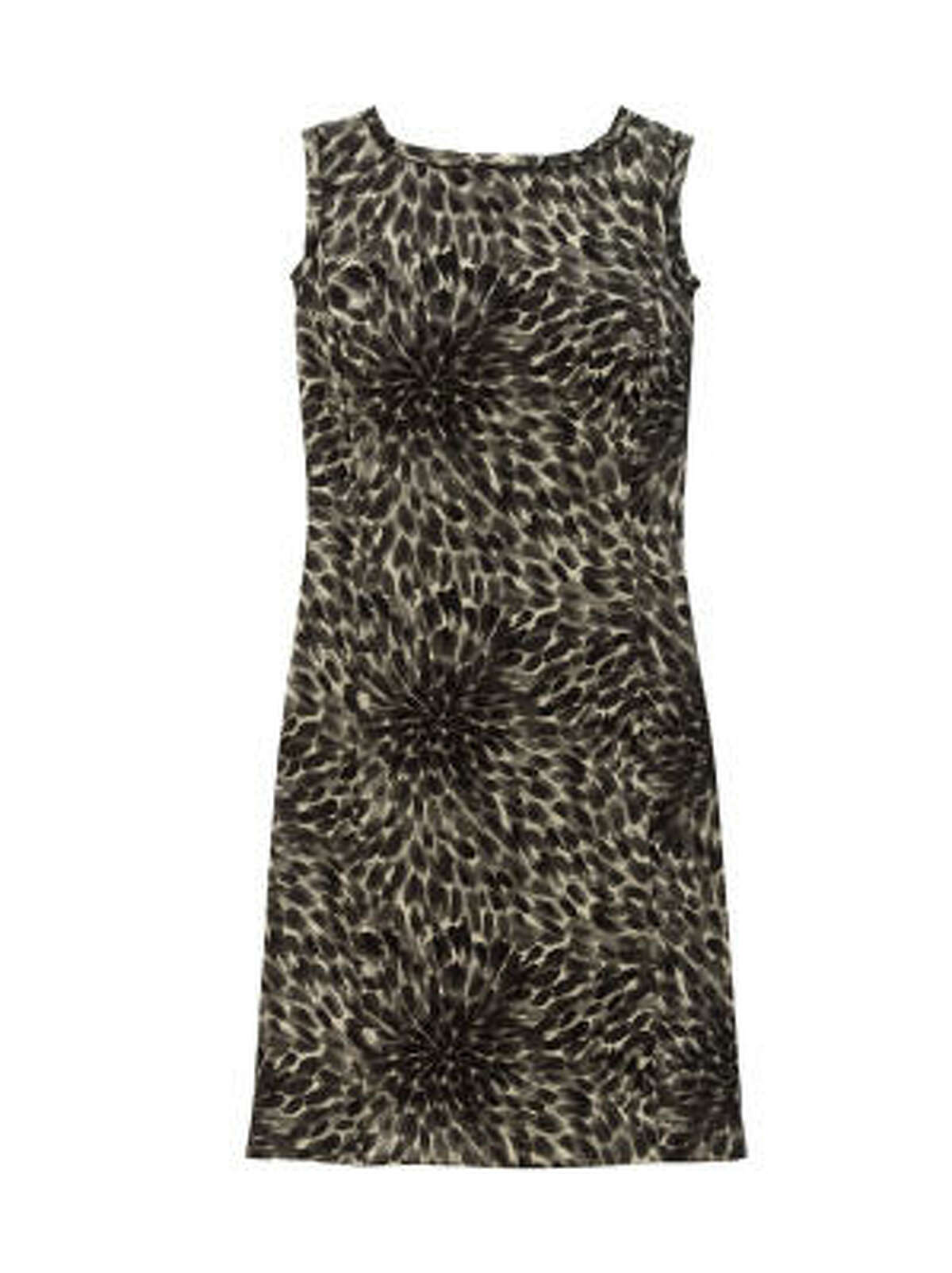 Dahlia sheath dress, $158, available in sizes up to 14 at Ann Taylor stores and up to size 18 online at anntaylor.com