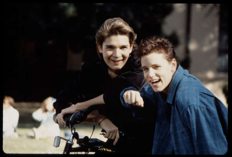 "Corey Haim & Corey FeldmanThe two Coreys were not only both Lost Boys, they were also members of the tribe. Haim is Israeli-Canadian and was raised Jewish in Toronto.  His name is a variant of the Hebrew word for life (""l'chaim""). Photo: Joyce Rudolph, Twentieth Century Fox"