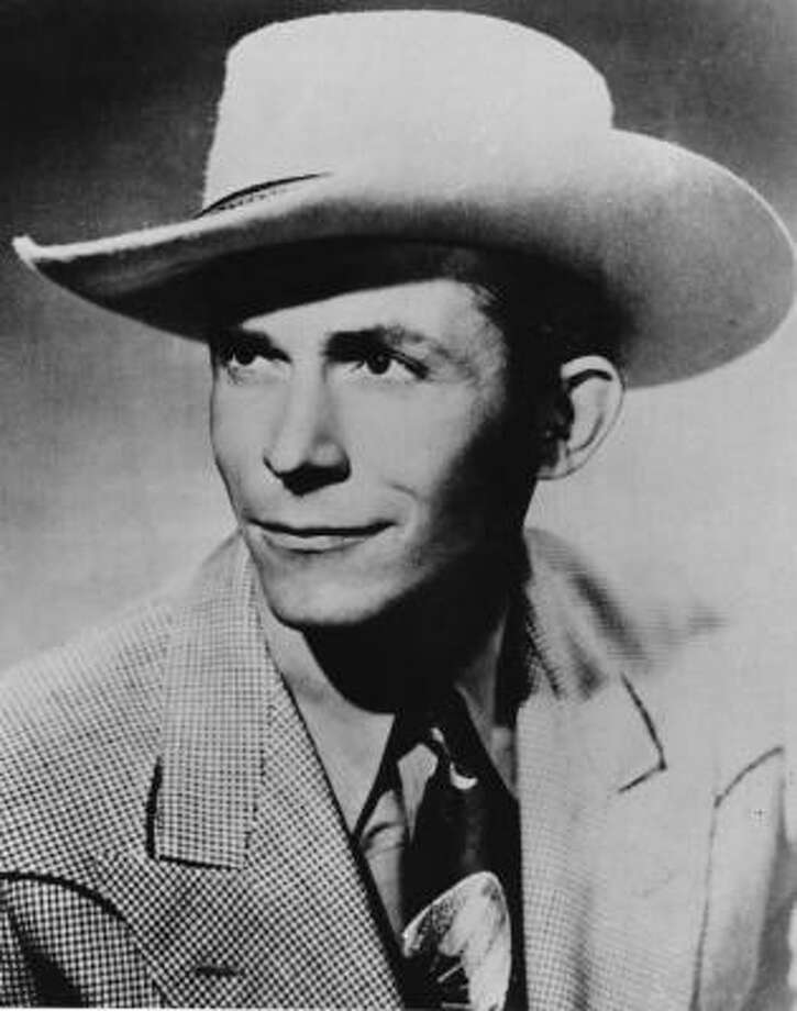 Hank Williams, age 29The country legend died of heart failure on January 1, 1953. Photo: Associated Press