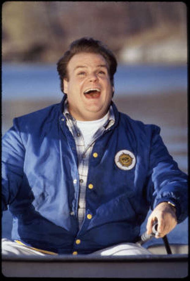 Chris Farley, age 33The 'Saturday Night Live' funnyman died of a drug overdose involving cocaine and opiates on December 18, 1997. Photo: Chris Helcermanas-Benge, Paramount Pictures