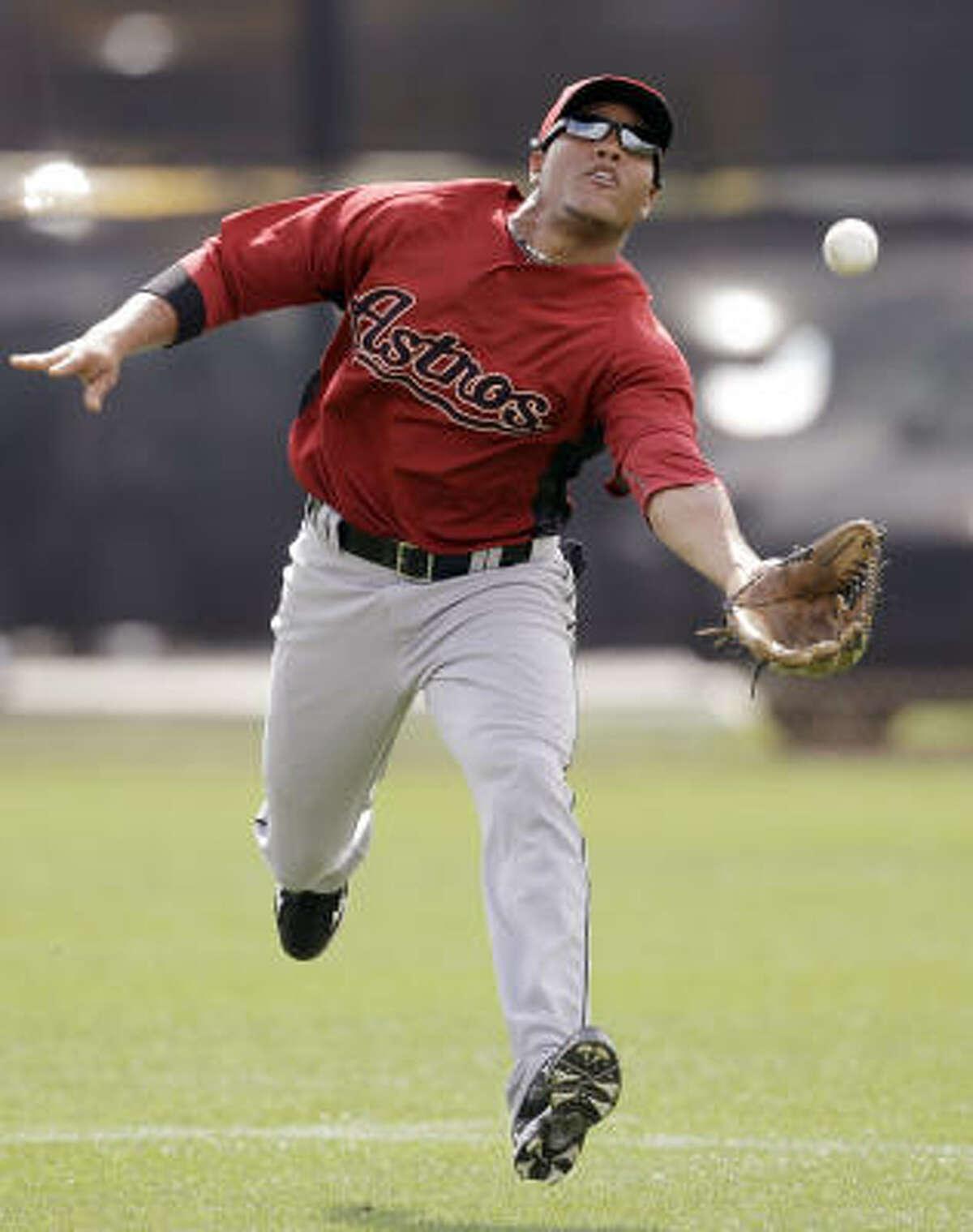 Yordany Ramirez Age: 25 Bats: Right Status: 40-man roster MLB experience: None 2009 season: Class AAA Round Rock.