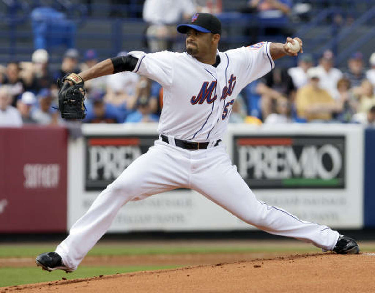 Mets starter Johan Santana gave up six hits and four runs. His spring ERA stands at 21.60