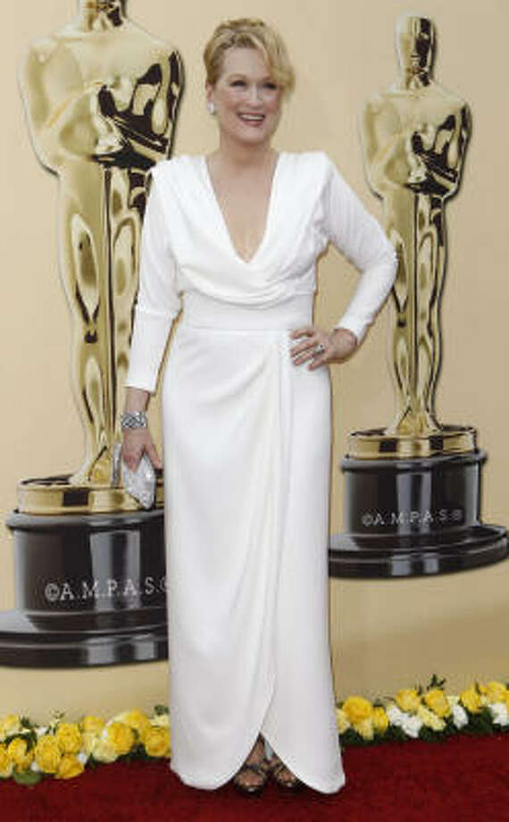 Dowdy: Meryl Streep looks like a fuddy duddy in this. Photo: Matt Sayles, AP