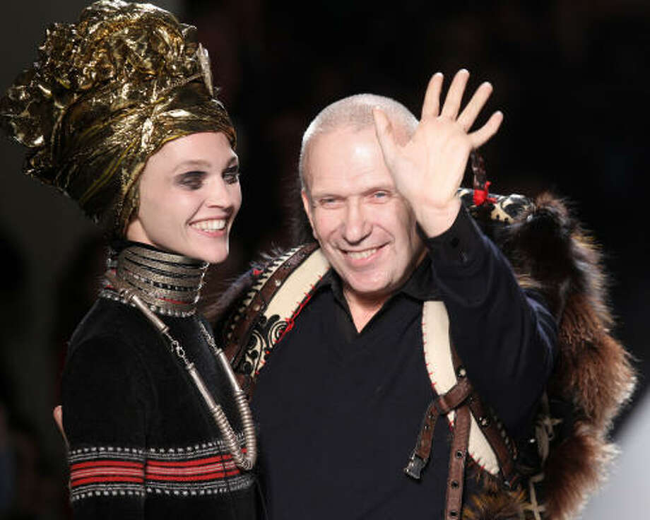 French designer Jean Paul Gaultier has a reputation of being a bad boy and pushing the envelope when it comes to fashion. He has a new line coming out at Target. Read more here. Photo: PIERRE VERDY, AFP/Getty Images