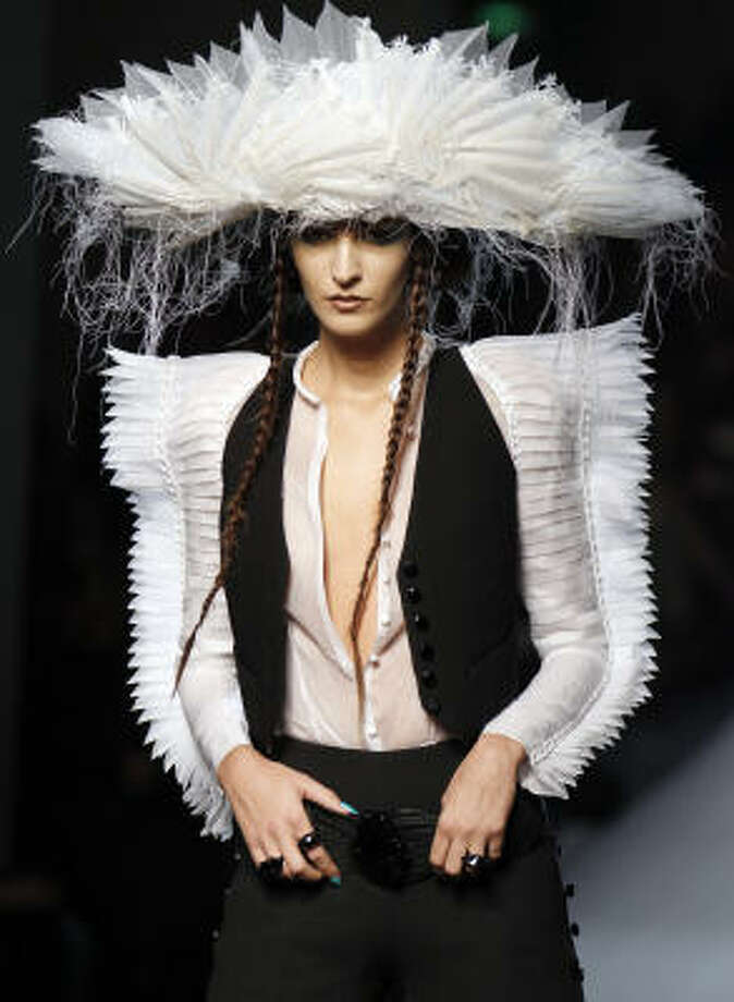 Jean Paul Gaultier's spring-summer 2010 haute couture collection. Photo: FRANCOIS GUILLOT, AFP/Getty Images