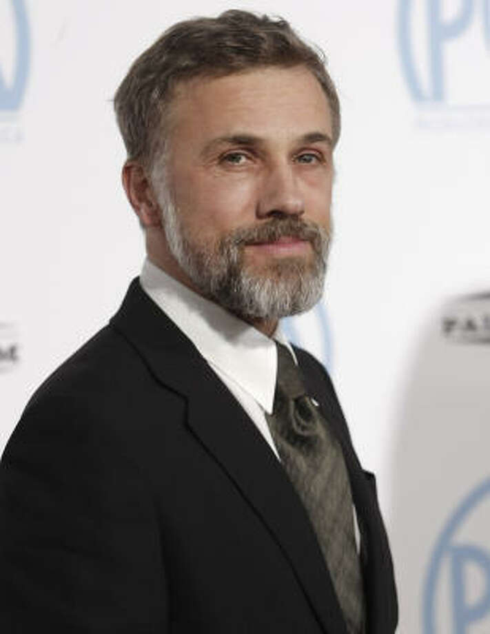 "Christoph Waltz, ""Inglourious Basterds"" Best Supporting Actor Photo: Dan Steinberg, AP"