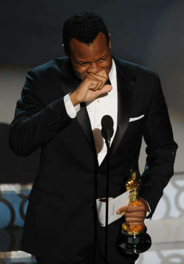 "Geoffrey Fletcher, ""Precious"" Best Adapted Screenplay Photo: GABRIEL BOUYS, AFP/Getty Images"
