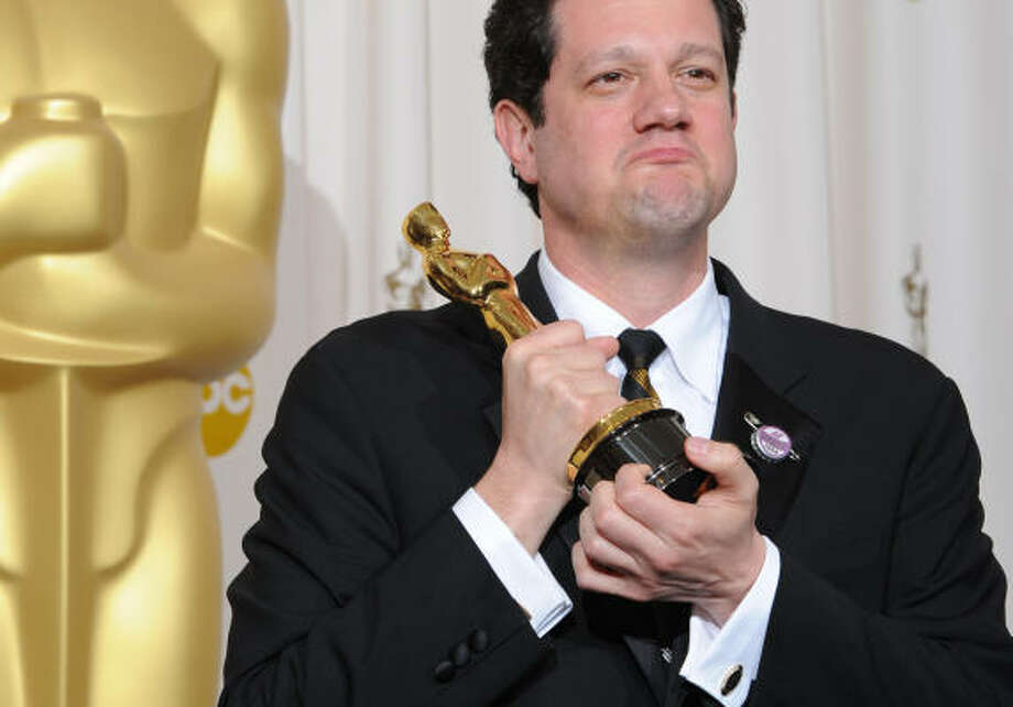 "Michael Giacchino , ""Up"" Best Music (Original Score)  Photo: MARK RALSTON, AFP/Getty Images"