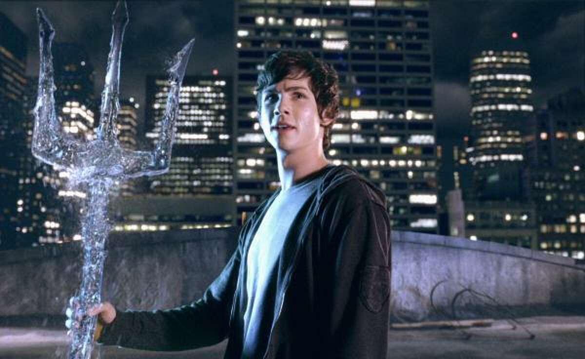 Percy Jackson & the Olympians: The Lightning Thief , $9.8 million Film adaptation of Rick Riordan's popular fantasy series about a boy who learns he's the son of Poseidon.