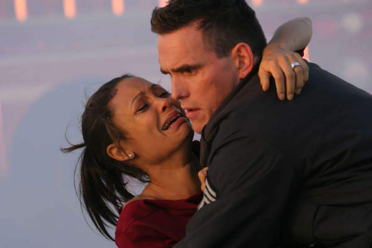 At the 78th Academy Awards, Crash, an ensemble movie about racial tensions with a star-studded cast including Thandie Newton and Matt Dillon, won the top prize.
