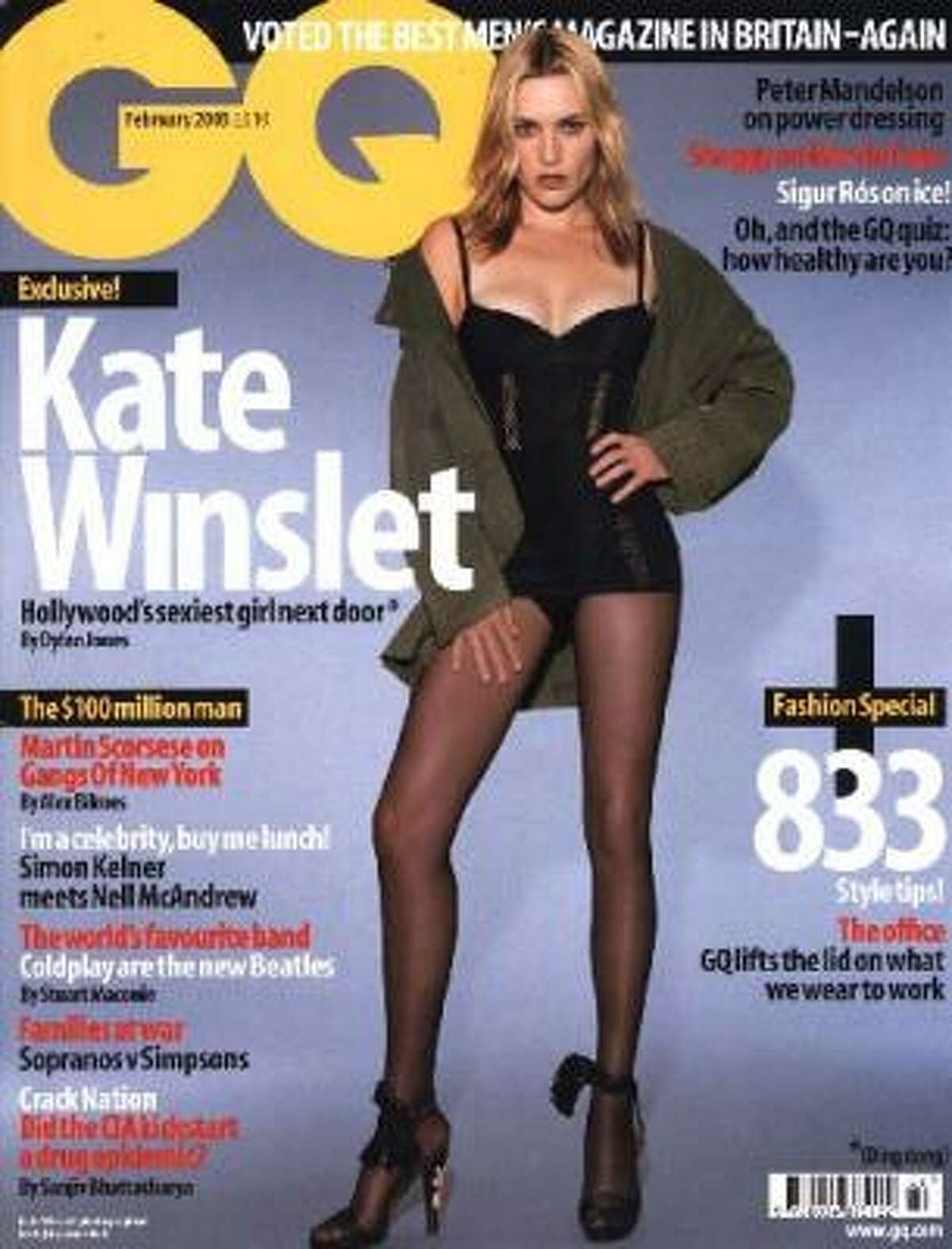 Oscar winner Kate Winslet has always been outspoken about her weight. An airbrushed GQ cover photo left the actress steaming, as she was quoted in the accompanying interview questioning sex appeal and weight.