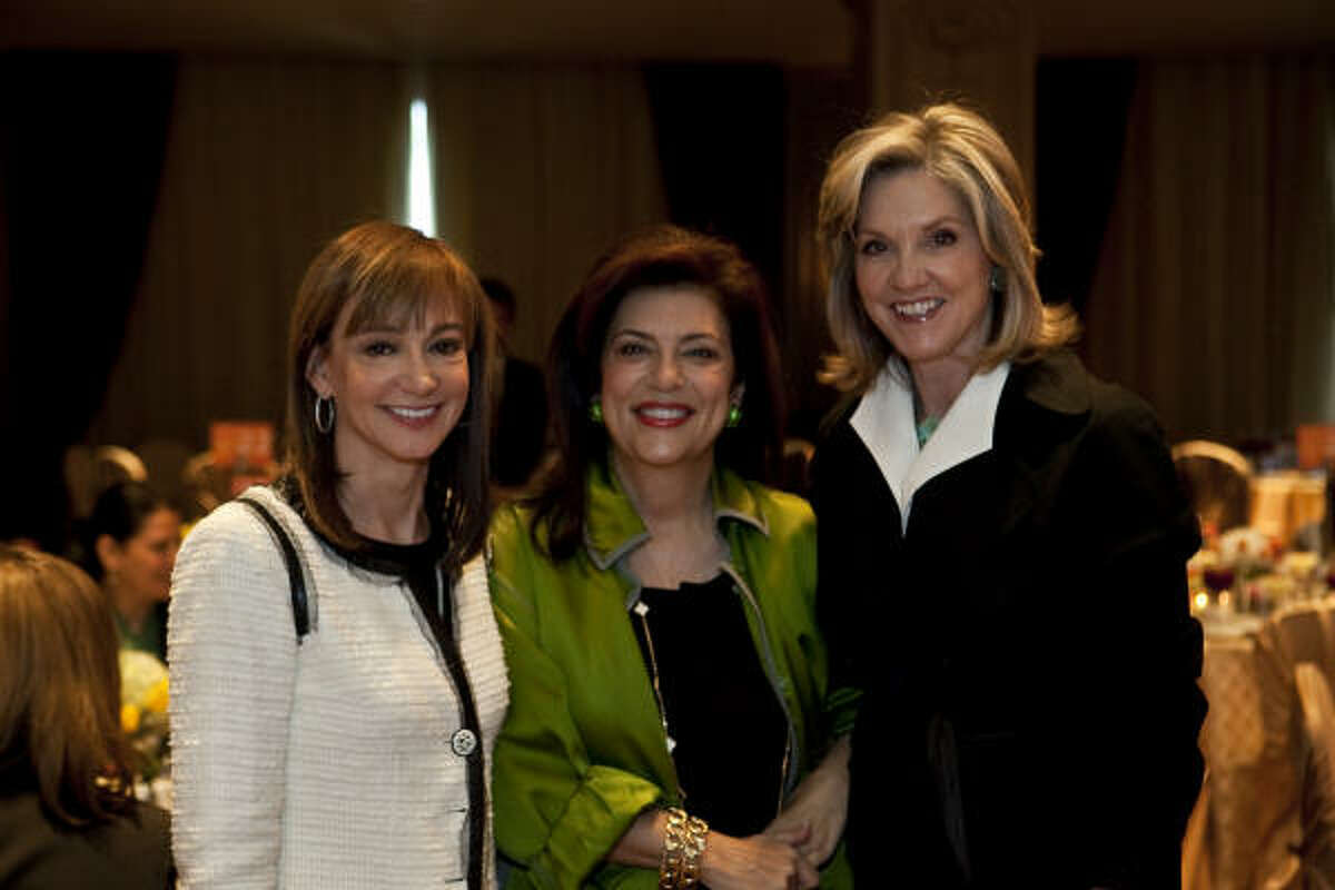 Janet Gurwitch, Dancie Ware and Patti Dale Tye attend the National Multiple Sclerosis Society's On the Move Luncheon.