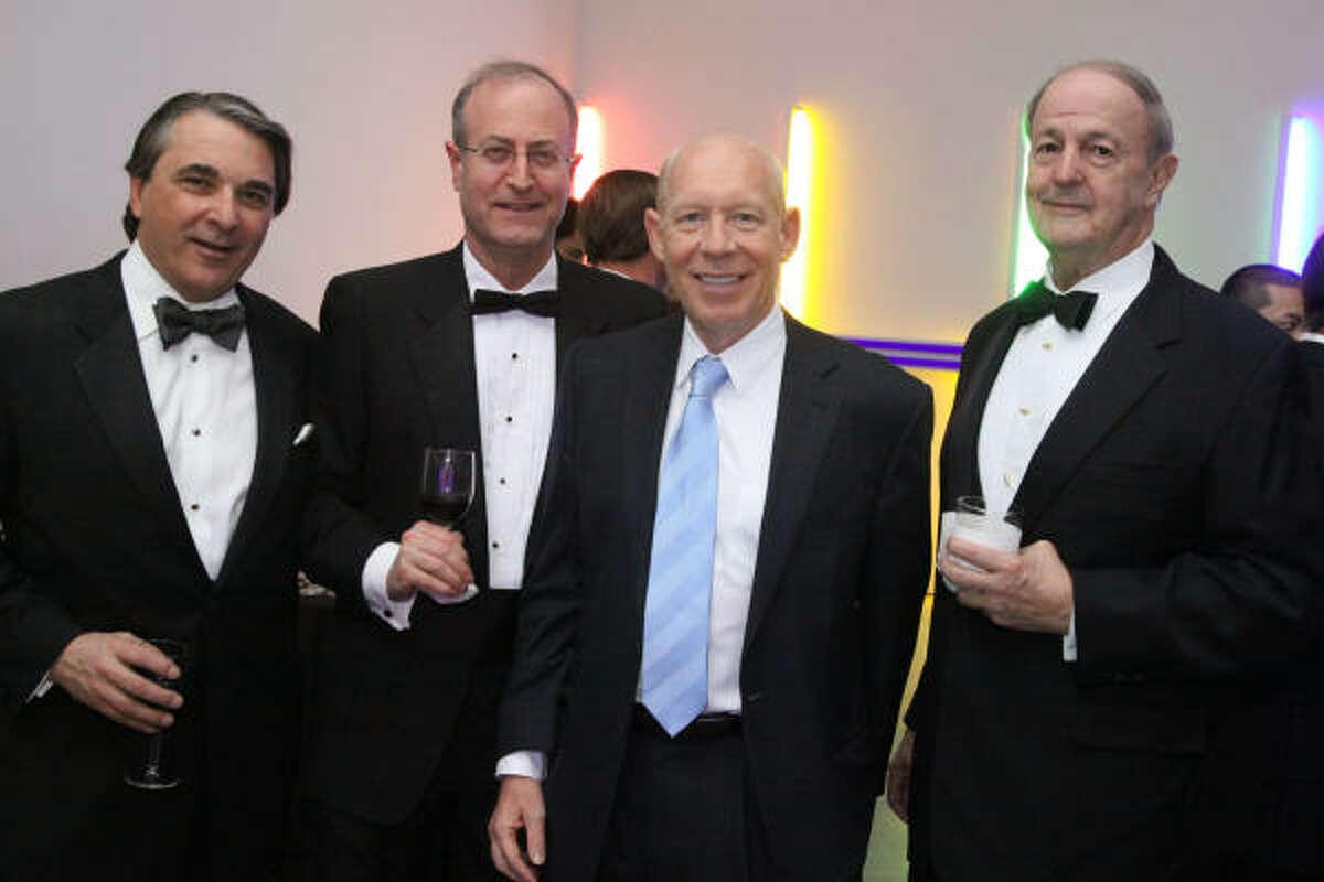 Mark Wawro, Gene Oshman, Bill White and William J. Hill