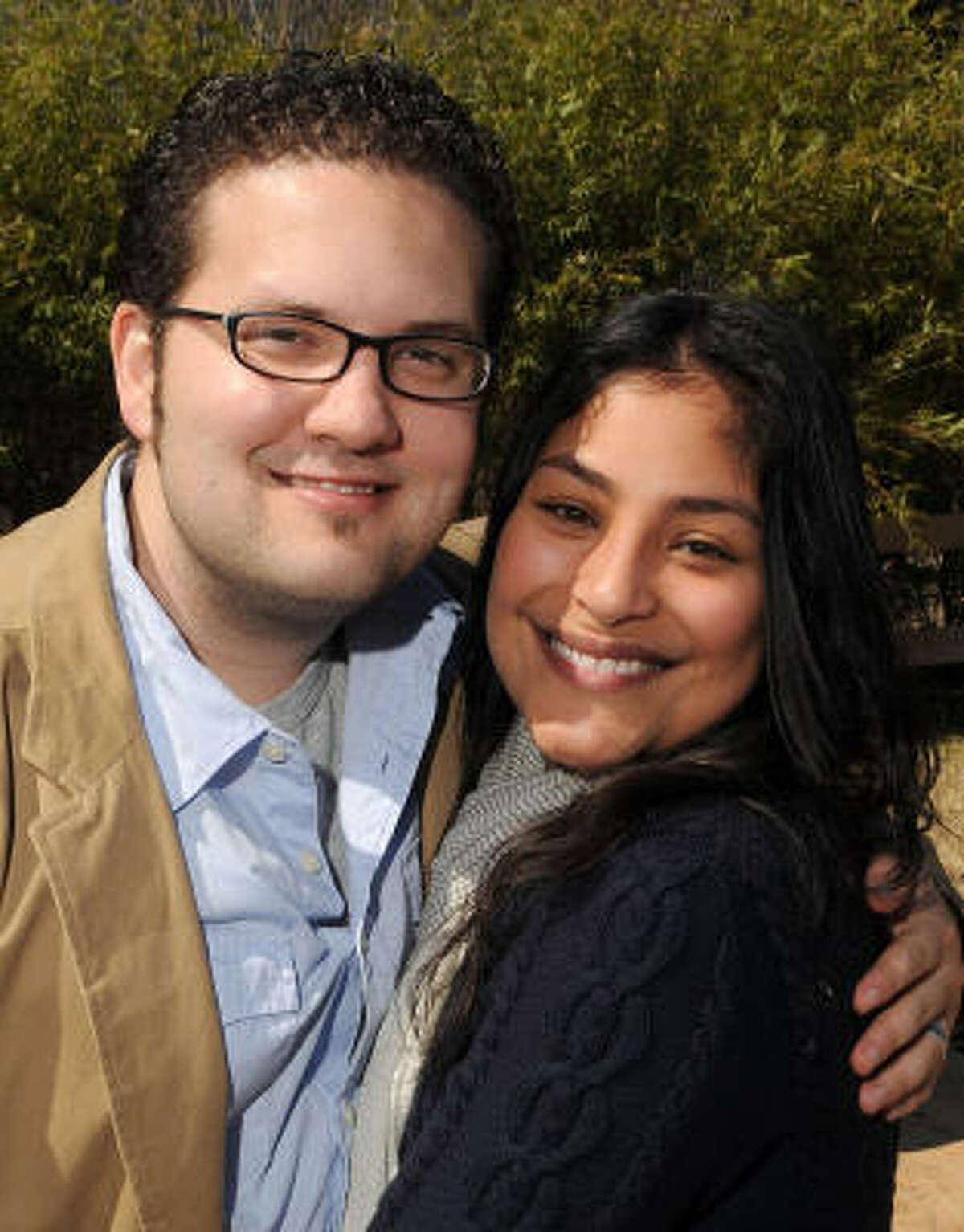 Tony and Angelina Loftin at the Beastly Brunch at the Houston Zoo.