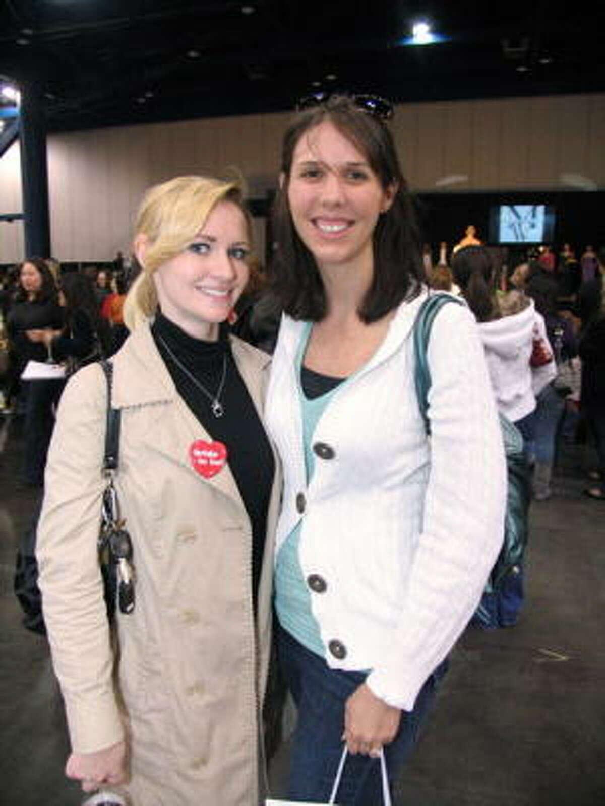 Kara Beth Armstrong, left, and Valerie Beyers