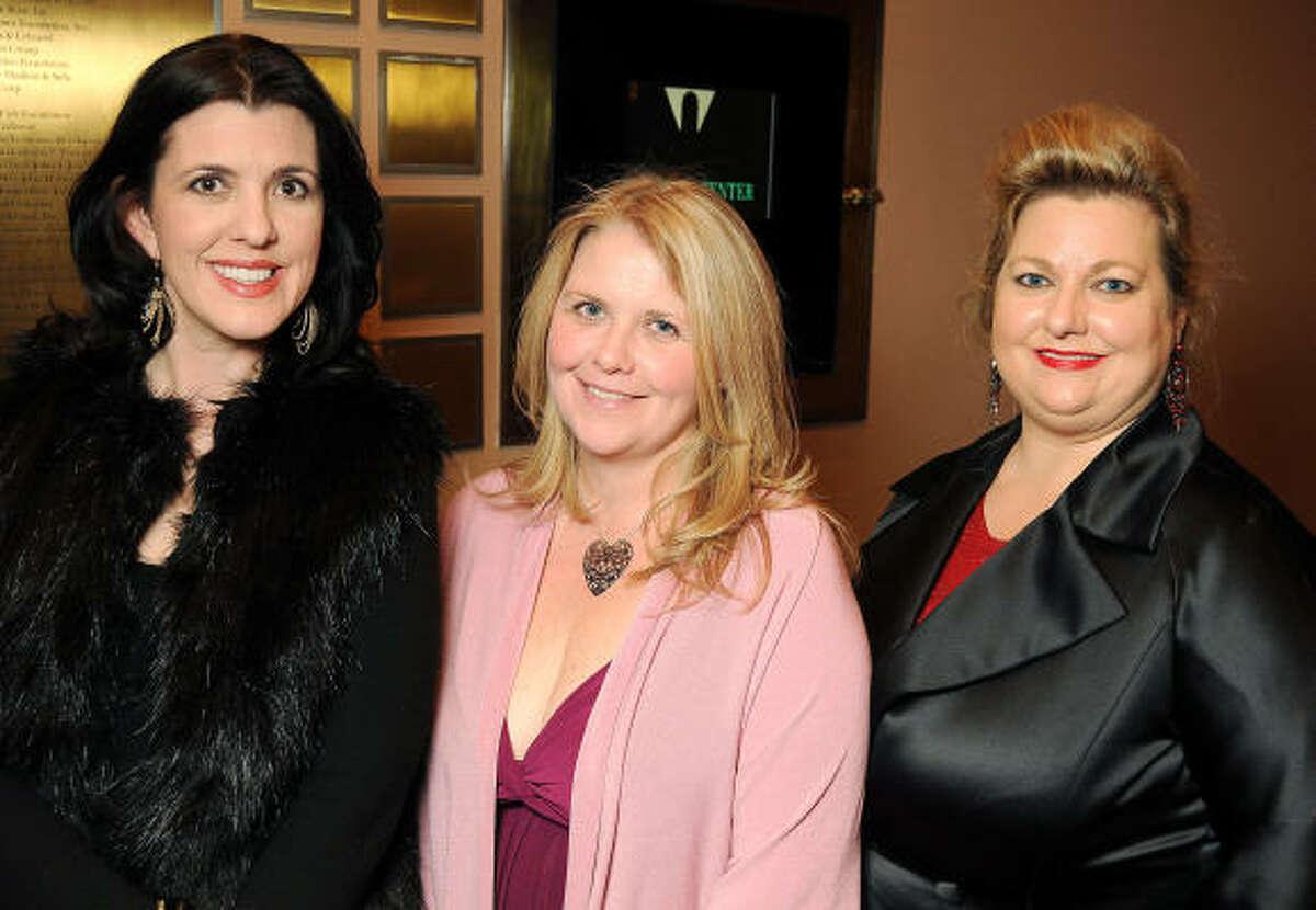 From left: Kelly Provine, Mia Bering and Katrina Arnim
