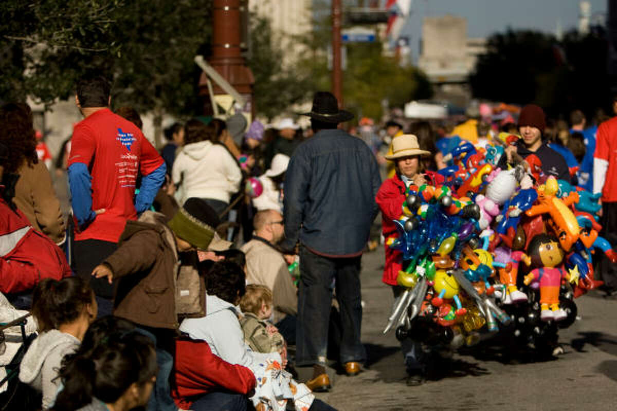 Colorful sights at the 72nd annual Rodeo Parade Saturday, Feb. 27, 2010, in Houston.