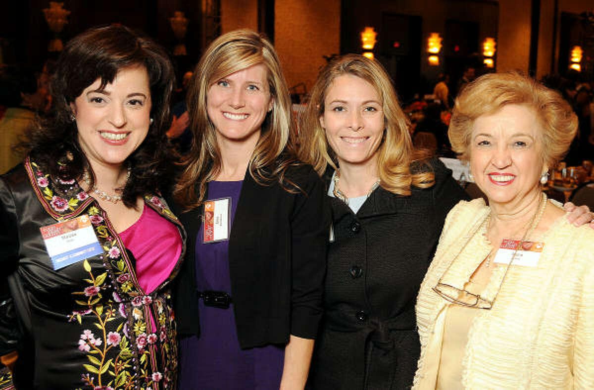 Melisa Dion, Lisa Kauderer, Sarah Kozul and Maria Juarez